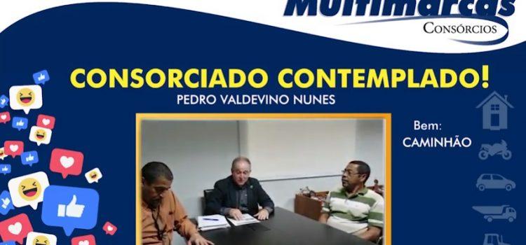 Pedro Valdevino fez 7 consórcios com a Multimarcas e já foi contemplado em 6.
