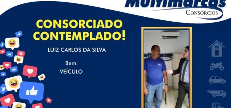 """Luiz Carlos adquiriu um veículo: """"Um bom atendimento, está 100% indicado!"""""""