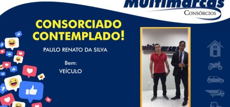 Paulo Renato foi contemplado através de sorteio e está de carro novo!