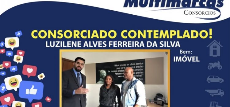 """Luzilene Alves: """"Estou muito feliz! São pessoas idôneas. Podem confiar!"""""""